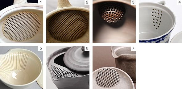 Clay vs. Metal Teapot Filters