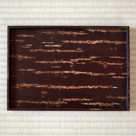 Cherry Bark Nagatebon Tray Muji