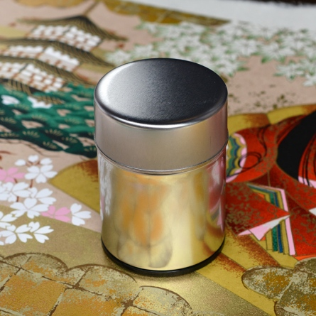 Metal Tea Caddy Small
