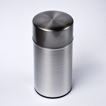 Silver Color Tea Caddy