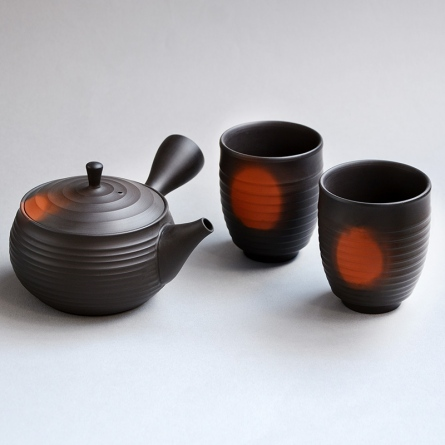 Gyokko Yohen Tea Set