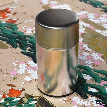 Metal Tea Caddy Medium