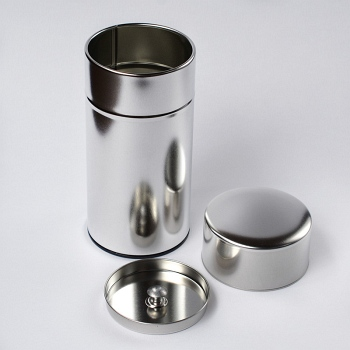 Metal Tea Caddy Large