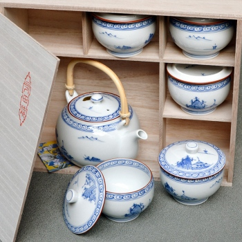 Kyoesansui Tea Set