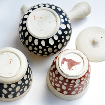 Kenji Dot Tea Set