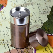 Bronze Color Tea Caddy