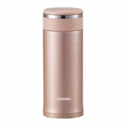 ZOJIRUSHI Stainless Mug with Tea Leaf Filter
