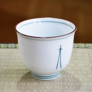 Pine Needle Teacup