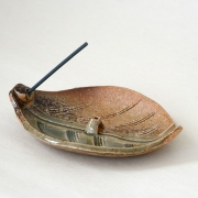Bankoyaki Incense holder - Konoha